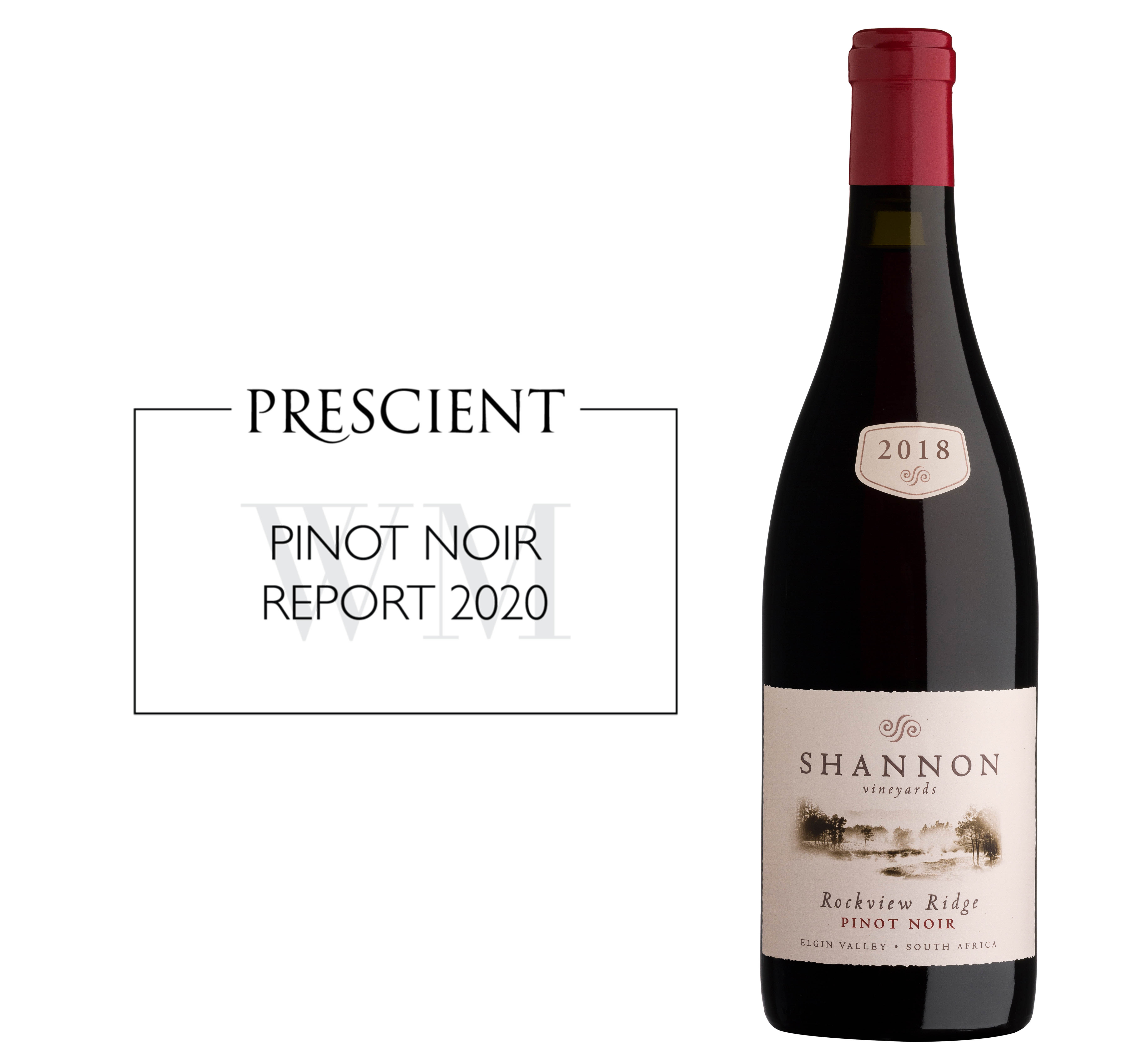 Shannon Rockview Ridge 2018 a winner in the Prescient Pinot Noir Report 2020 image main